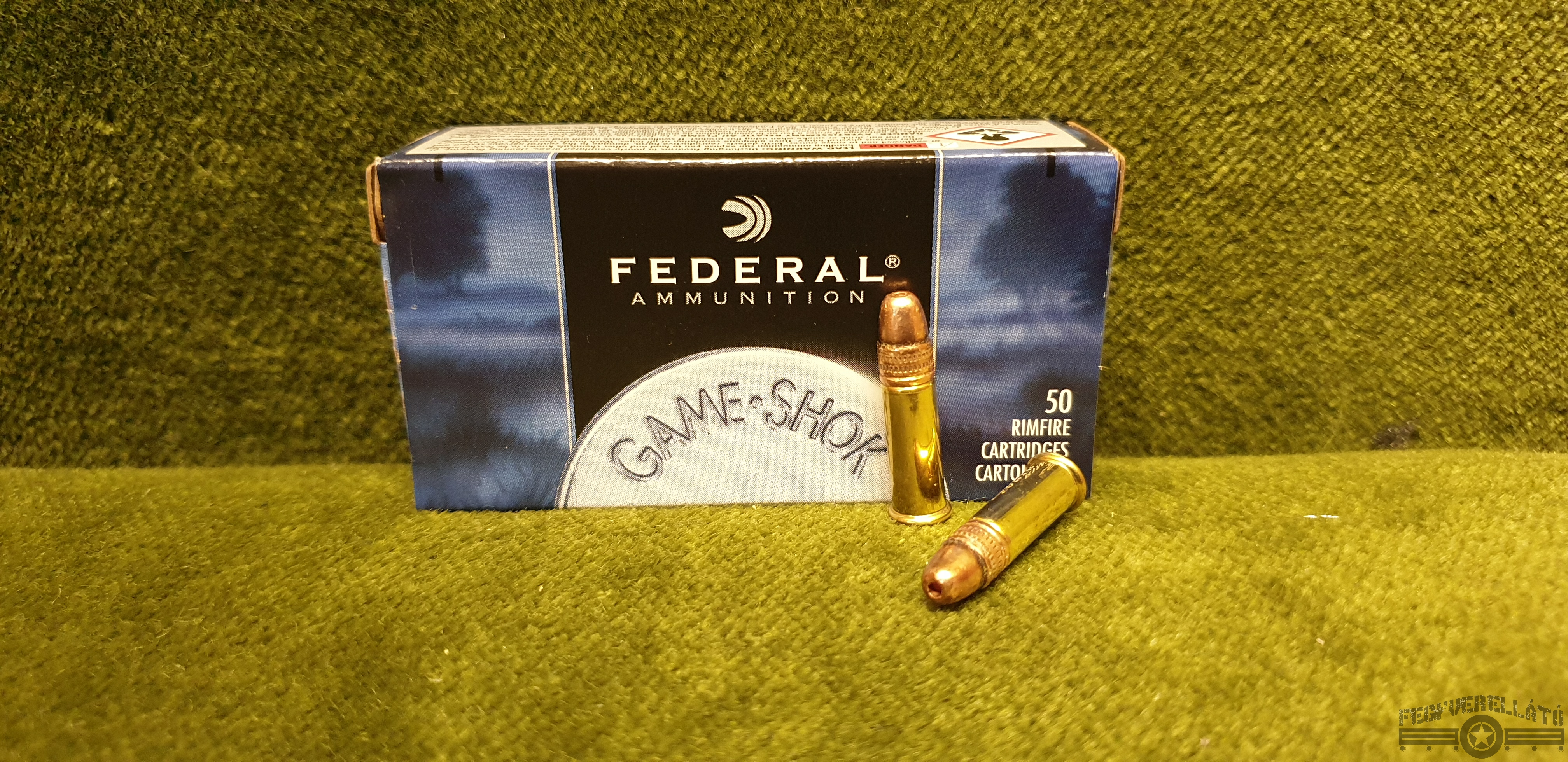 Federal, 0.22 Long Rifle, GameShok, 38gr