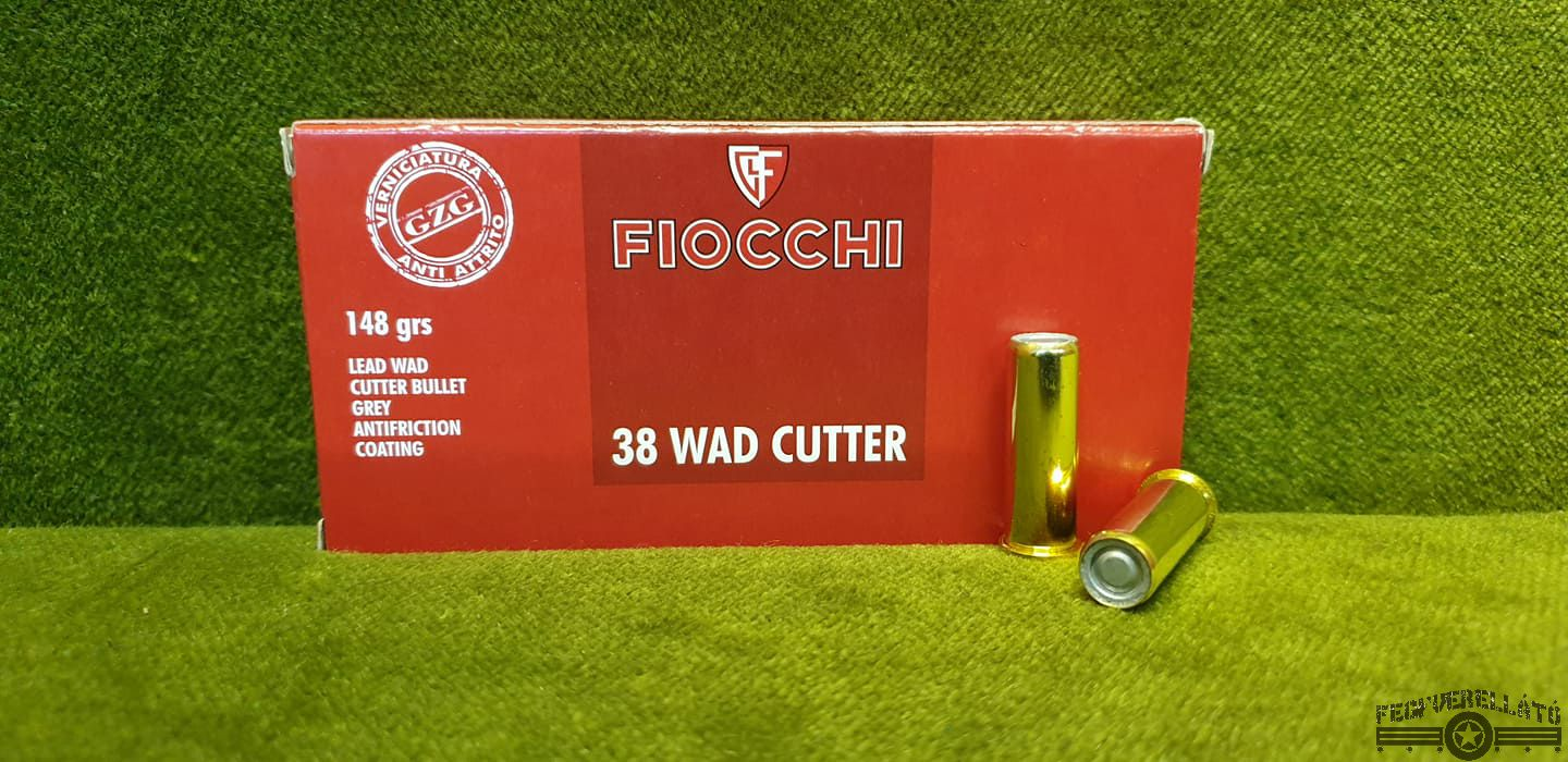 Fiocchi, .38 Special, Wadcutter, 148 gr