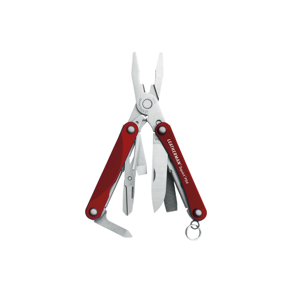 Leatherman Squirt PS4 piros