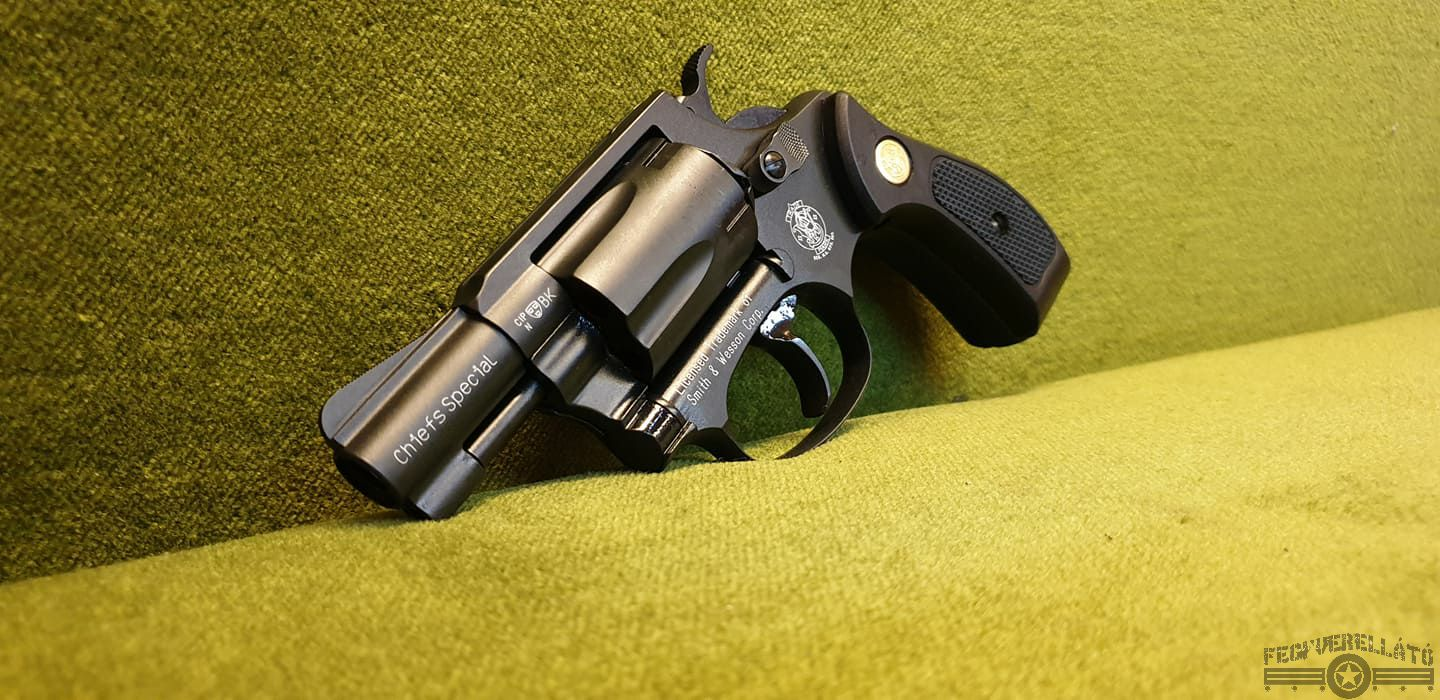 Umarex Smith&Wesson Chief Special, fekete
