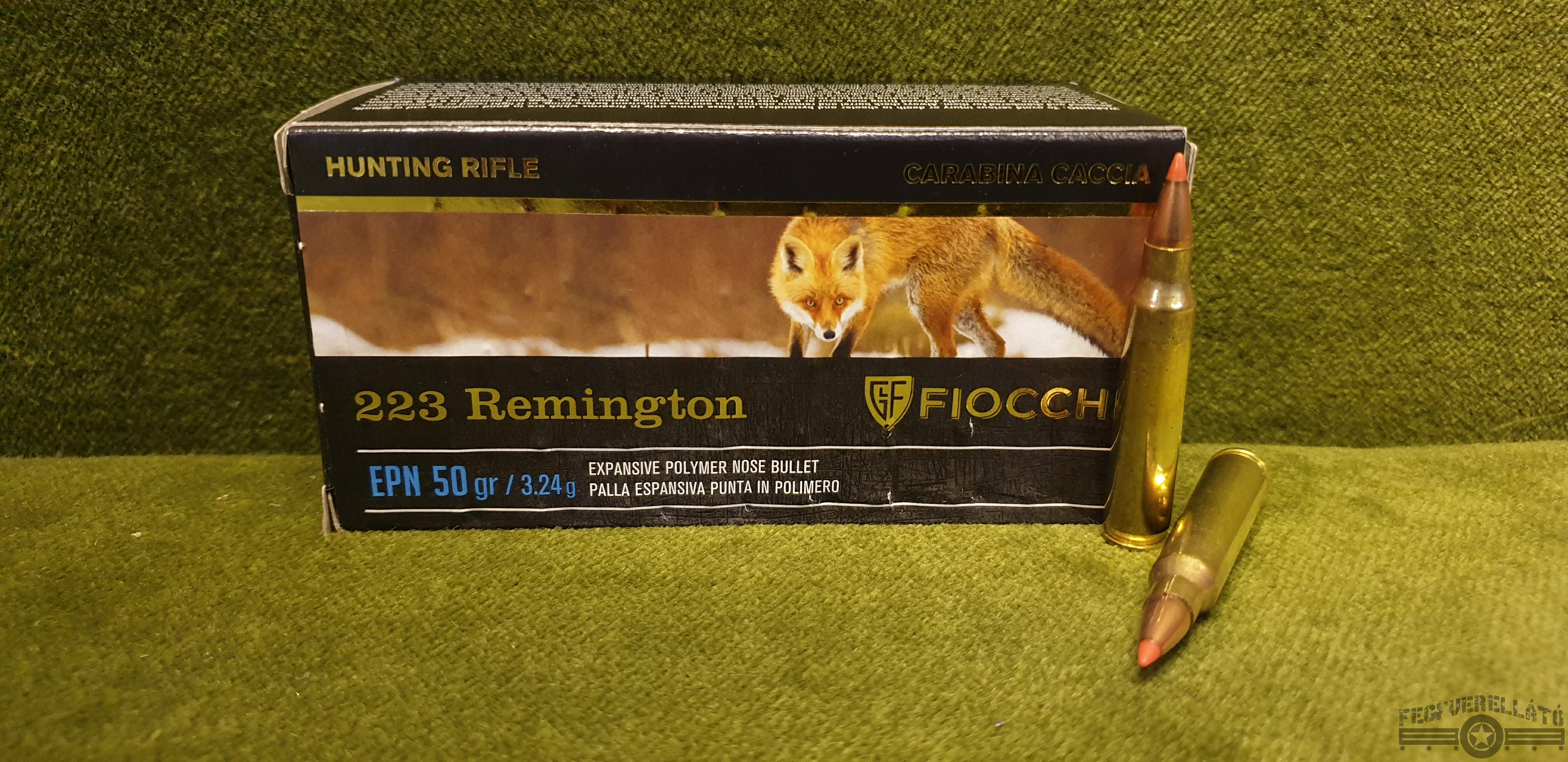 Fiocchi, .223 Rem. , EPN Manually Loaded, 50 gr