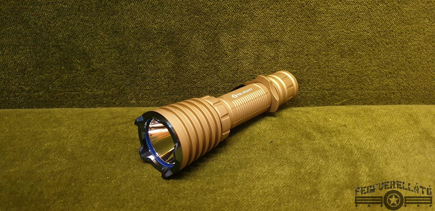 Olight Warrior X Desert tan Limited elemlámpa