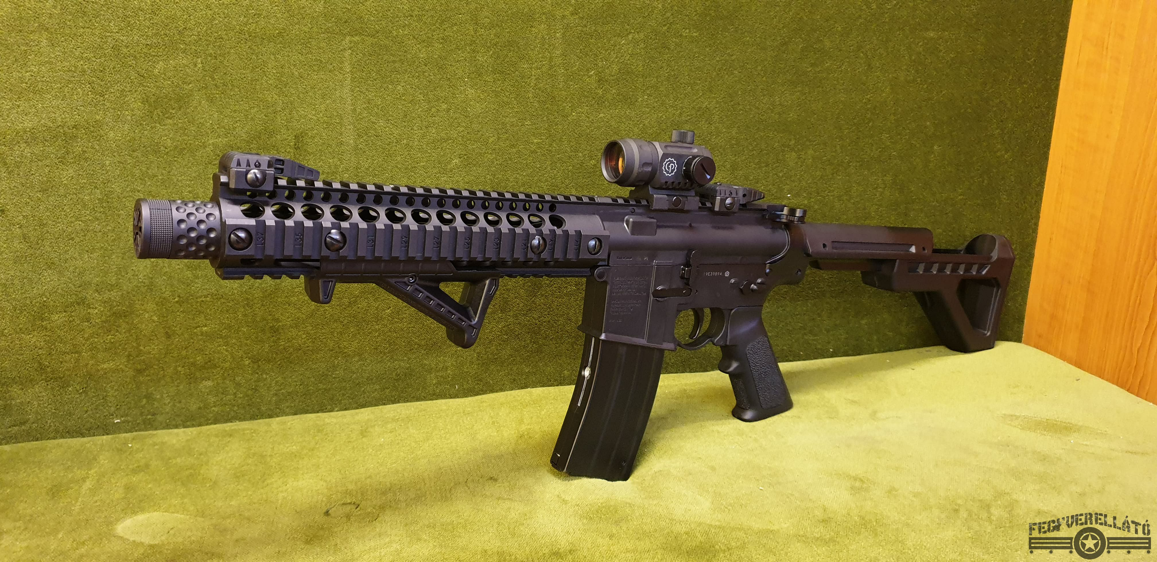 Crosman DPMS SBR Red Dot-tal